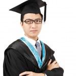 Young Asian man graduation — Stock Photo #8368022