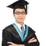 Man graduation — Stock Photo #8368030