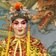 Cantonese opera dummy - Stock Photo