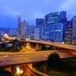 Highway in city at night — Stock Photo #8406362