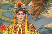 Manequim de ópera cantonense — Foto Stock
