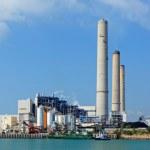 centrale électrique à charbon — Photo