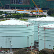 Oil storage tanks - Stock fotografie