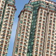 Stock Photo: Apartment house in Hong Kong