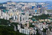 Hong Kong crowded building city — Stock Photo