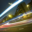 Highway light trails — Stock Photo #8491130