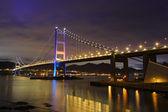 Tsing Ma Bridge — 图库照片