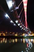 Bridge at night in Taiwan — Stock Photo