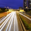 Highway light trails — Stock Photo #8897267