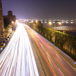Highway traffic at night — Stock Photo #8910673