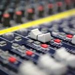 Sound mixer — Stock Photo