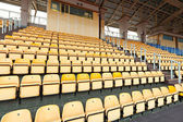 Empty stadium seats — Stock Photo