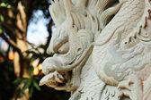 Estatua de dragón en el templo — Foto de Stock
