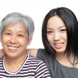 Smile mother and daughter — Stock Photo #8952653