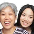 Smile mother and daughter — Stock Photo #8952656
