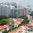 Residential downtown in Singapore — Foto Stock