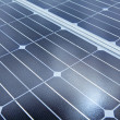 Royalty-Free Stock Photo: Photovoltaic cells of solar panel