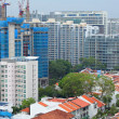 Residential downtown in Singapore — Stock Photo