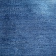 Creased denim texture — Stock Photo