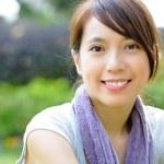 Beautiful sporty asian girl — Stock Photo #9179795