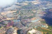 Foto aérea de ciudad no urbanas — Foto de Stock