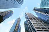 Highrise buildings at Singapore — Stock Photo