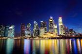 Città di singapore — Foto Stock