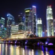 Singapore cityscape - Foto Stock
