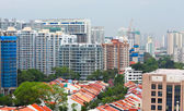 Residential area in Singapore — Stockfoto