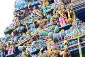 Hindu temple statue — Stock Photo