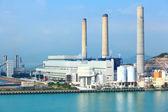 Electric power plant — Stock Photo