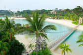 Landscape in sentosa, Singapore — Stock Photo