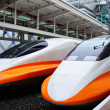 High speed train — Stock Photo