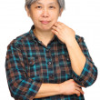 Mature asian woman — Stock Photo