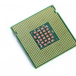 Stock Photo: CPU over white background