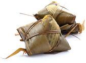 Tradiční zalomený rýžové knedlíky — Stock fotografie