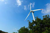 Wind turbine — Stock Photo