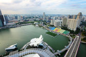 Singapore city view — Stockfoto
