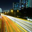 Highway in city at night — Stock Photo #9701446