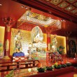 Buddha Tooth Temple interior — Stock Photo
