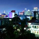 Singapore downtown at night — Stock Photo #9701524