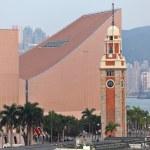 Clock tower in Tsim Sha Tsui , Hong Kong — Stock Photo #9777628