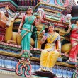 Hindu temple statue — Stock Photo