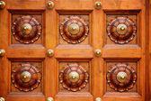 Sinos de porta de templo em templo da índia — Foto Stock