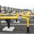 Gas pipes — Stockfoto
