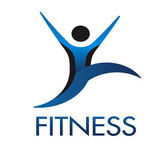 Fitness logo — Stock Vector