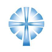 Cross Spirit — Stock Vector