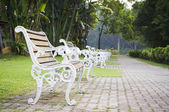 Bench witn nobody — Stock Photo