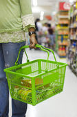 Grocery basket — Stock Photo