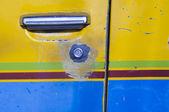Car door handle — Foto Stock
